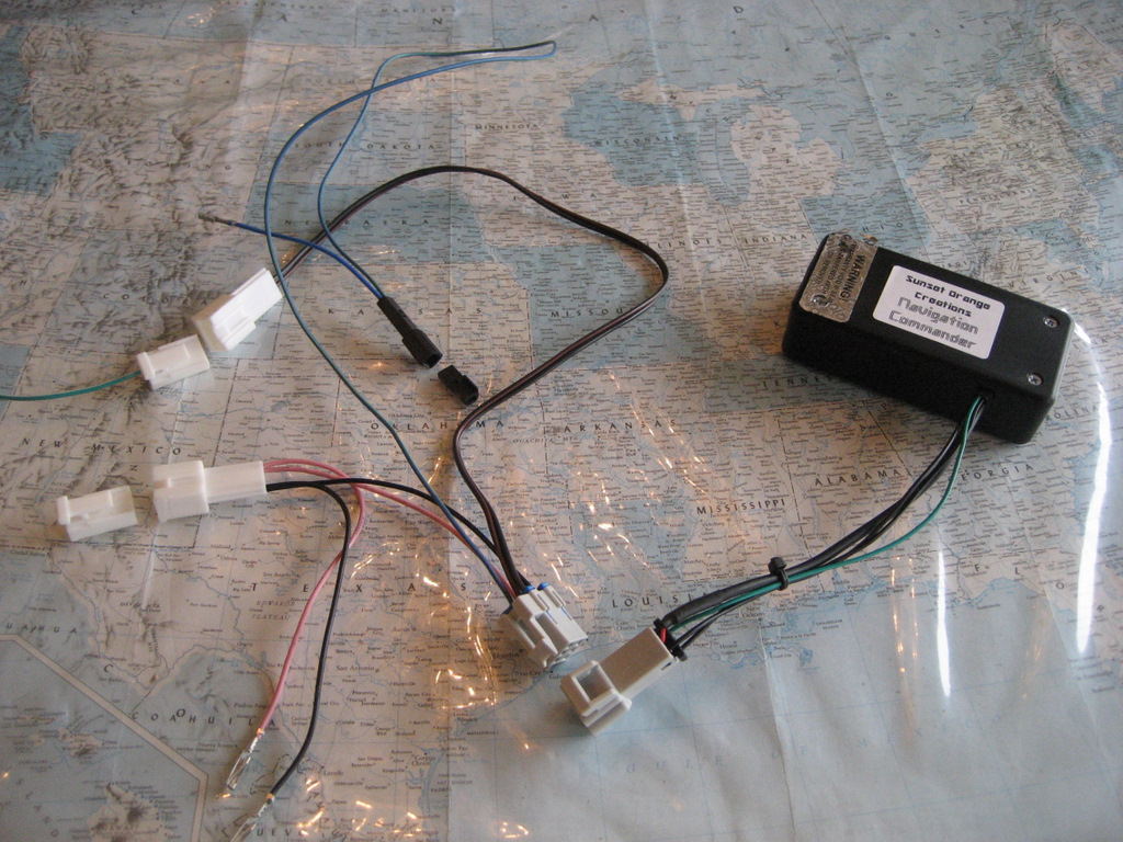 hight resolution of five wires need to be connected into the factory wiring harnesses